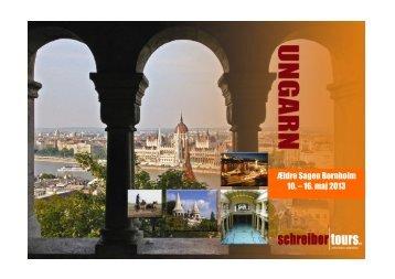 Rejser til Ungarn 2013 - Ældre Sagen
