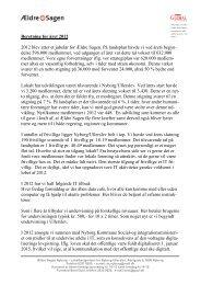 Beretning for 2012.pdf - Ældre Sagen