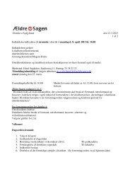 Distrikt 4 Sydjylland den 12.3.2013 1 af 2 Indkaldelse ... - Ældre Sagen