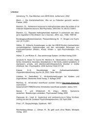 Literatur zum Thema ADHS (PDF). - Die Kleckse