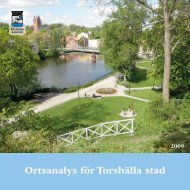 Ortsanalys för Torshälla stad - Eskilstuna kommun