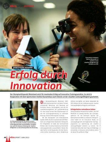 Erfolg durch Innovation - Dynamic-Eye