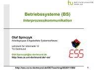 BS: 07 - Interprozesskommunikation - TU Dortmund