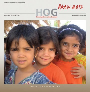 HOG - Aktiv 2013 - Homöopathen ohne Grenzen