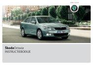 ŠkodaOctavia INSTRUCTIEBOEKJE - Media Portal - Škoda Auto