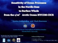 Sensitivity of Ocean Processes in the Nordic Seas to Surface Winds ...