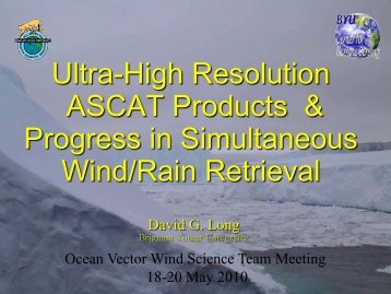 ascat - Center for Ocean-Atmospheric Prediction Studies
