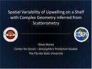 Spatial Variability of Upwelling on a Shelf with Complex Geometry ...