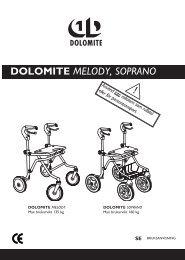 DOLOMITE melody, SoPRANo - Invacare