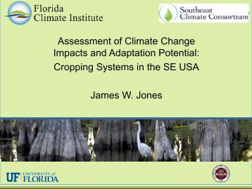 Assessment of Climate Change Impacts and Adaptation Potential ...
