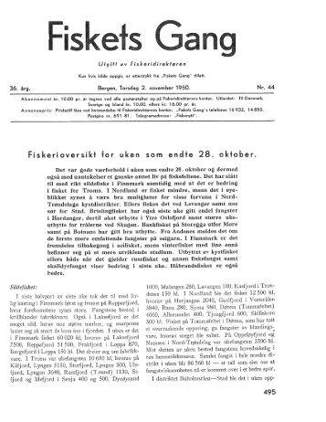 Fiskets Gang, nr 44, 1950