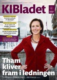 KI Bladet 1/2013 som pdf - Karolinska Institutet