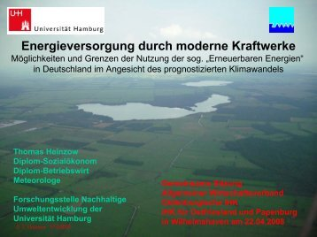 Energieversorgung durch moderne Kraftwerke - Download