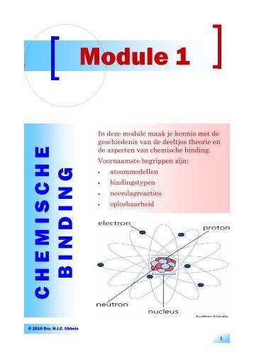 Module 1 V10 - Chemische binding - EveryOneWeb