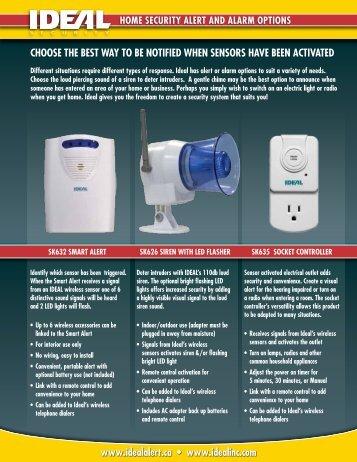 Alerts SK632-SK626-SK635 - Ideal Security Inc.
