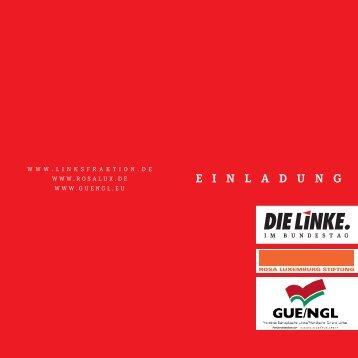 Flyer zum Ausdrucken - Digitale Linke