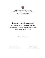 PhD. Thesis - Borexino