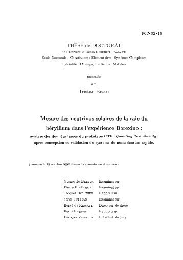 PhD. Thesis