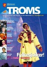 Fylkesjoiker! - Ansatte - Troms fylkeskommune