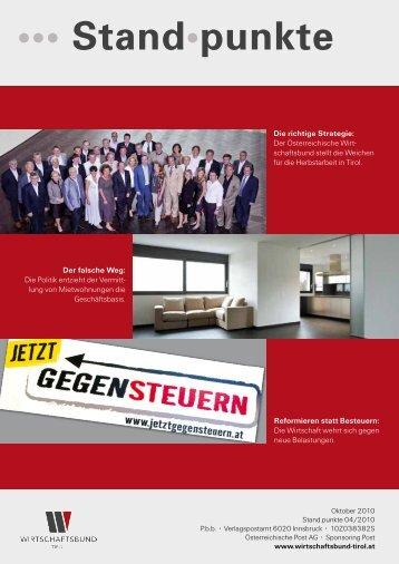 ••• Stand•punkte - Österreichische Wirtschaftsbund