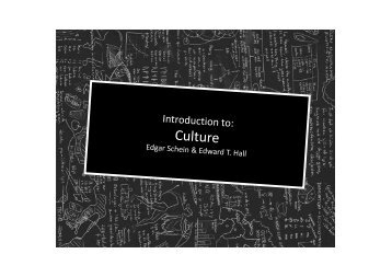 Lecture 7 Concepts of Culture - MBA7