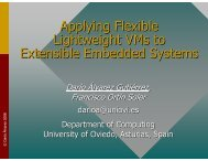 presentation slides (pdf) - Embedded System Software Group