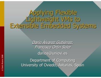 presentation slides (pdf) - Embedded System Software Group