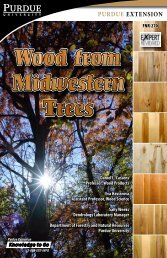 Wood from Midwestern Trees - FNR-270 - Purdue Extension ...