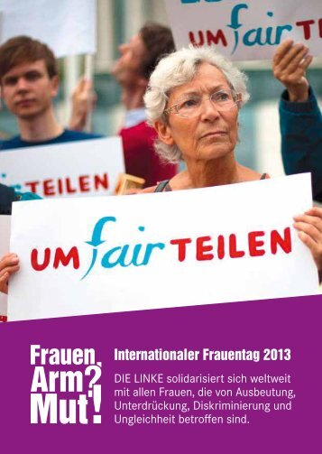 Internationaler Frauentag 2013