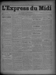 28 novembre 1891 - Bibliothèque de Toulouse