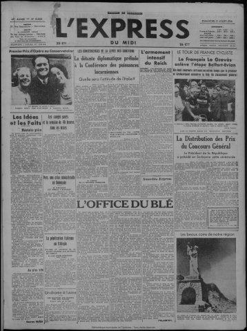 12 juillet 1936 - Bibliothèque de Toulouse - Mairie de Toulouse