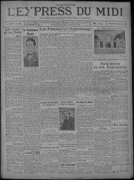 26 janvier 1930 - Bibliothèque de Toulouse