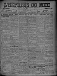 14 Novembre 1902 - Bibliothèque de Toulouse