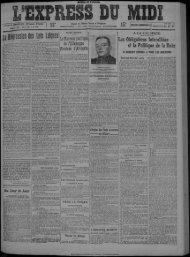 29 janvier 1925 - Bibliothèque de Toulouse