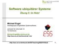SuS Übung 3 - Embedded System Software Group - TU Dortmund