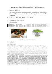 Projektgruppenantrag - Embedded System Software Group - TU ...
