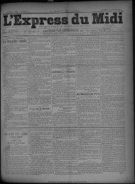 30 octobre 1891 - Bibliothèque de Toulouse