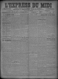 19 février 1908 - Bibliothèque de Toulouse