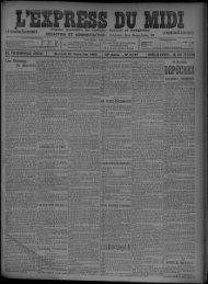 24 Septembre 1902 - Bibliothèque de Toulouse