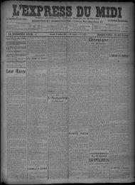 18 Juillet 1908 - Bibliothèque de Toulouse
