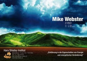 Mike Webster - Hara-Shiatsu Institut