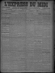 26 Avril 1909 - Bibliothèque de Toulouse