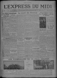 14 MAI 1932 - Bibliothèque de Toulouse