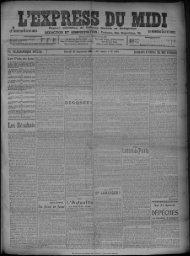 25 Septembre 1909 - Bibliothèque de Toulouse