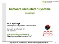 SuS-07.2: Ausblick - TU Dortmund