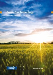 Green Gas Technology - Imtech