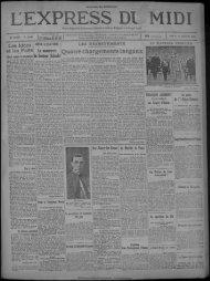 11 janvier 1930 - Bibliothèque de Toulouse