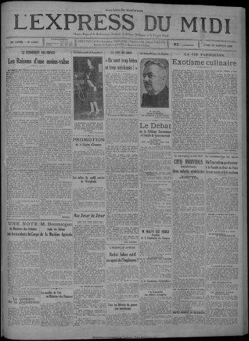 24 janvier 1929 - Bibliothèque de Toulouse
