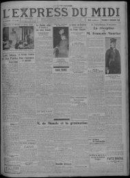 17 novembre 1933 - Bibliothèque de Toulouse