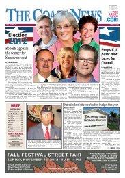 The Coast News, Nov. 9, 2012